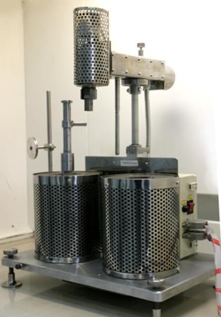 Аппарат для определения пластических свойств угля по методу Гизелера